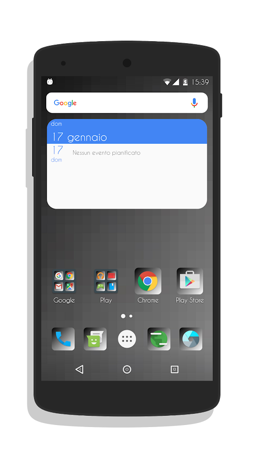 Rounded UI - CM13/CM12 Theme Screenshot