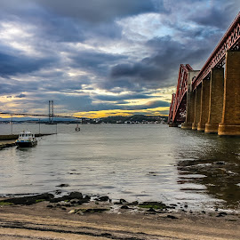 Forth Bridge by Keith Griffiths - Buildings & Architecture Bridges & Suspended Structures ( water, scotland, edinburgh, forth bridge, river,  )