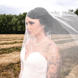 Caught in Love by Justin Quinn - Wedding Bride ( oregon, female, dress, wedding, bride, wedding sat final )