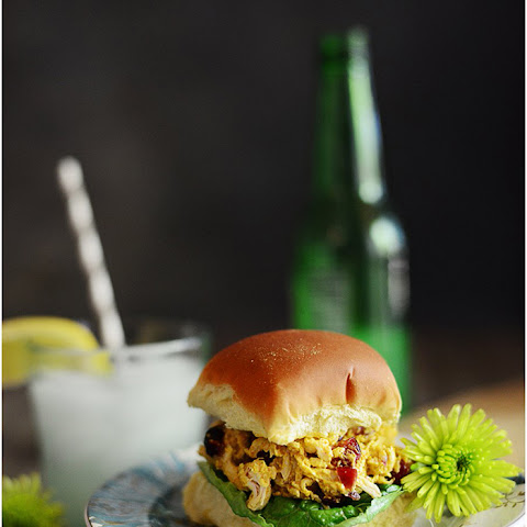 Curry Chicken Salad Sliders