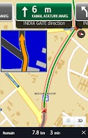 Screenshot of It's NAV India:GPS Navigation