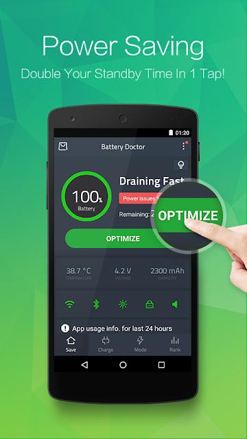 Battery Doctor (Battery Saver) screenshots