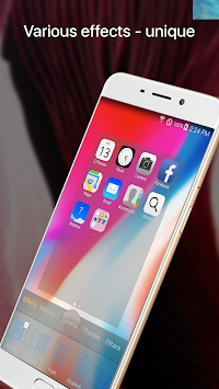 OS11 Phone X Launcher APK screenshot thumbnail 2