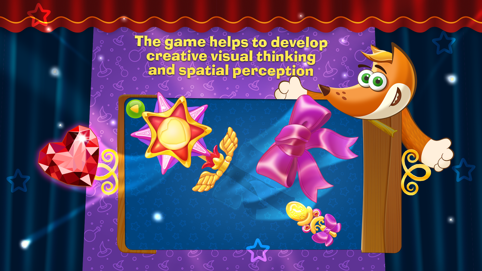 Tim the Fox - Puzzle Tales Screenshot 1