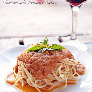 Homemade Tomato Sauce With Roma Tomatoes Recipes