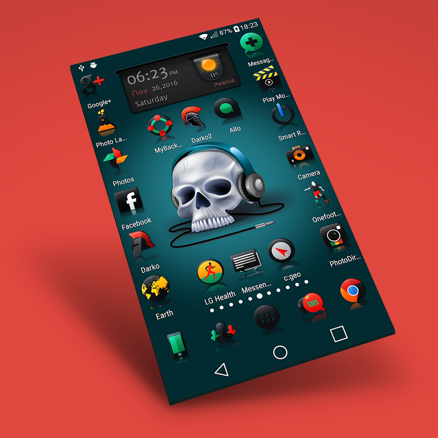 Darko 2 - Icon Pack Screenshot 0