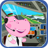 Airport Professions: Kids Games Icon