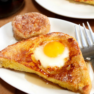 French Toast Eggs in a Hole