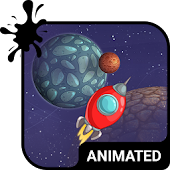 Space Travel Animated Keyboard APK for Lenovo