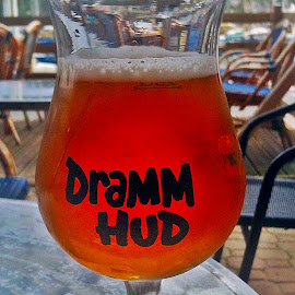 Dramm hud! by Dobrin Anca - Food & Drink Alcohol & Drinks ( sky, beer, blue, sea, brittany,  )