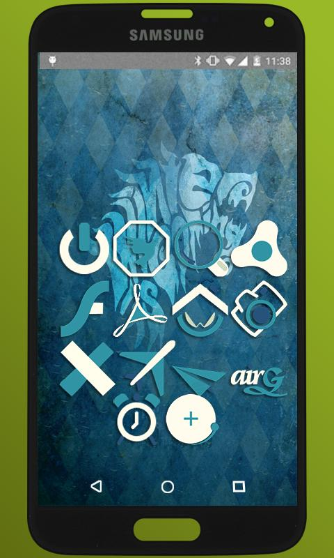 BlueMia - icon pack Screenshot 3
