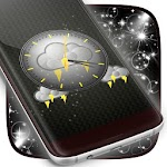 Storm Clock Theme Apk