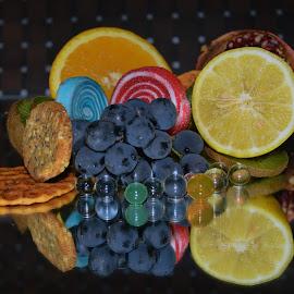 fruits with dessert by LADOCKi Elvira - Food & Drink Fruits & Vegetables