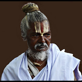 Bawa by Prasanta Das - People Portraits of Men ( sadhu, portrait )