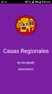 Casas Regionales - screenshot