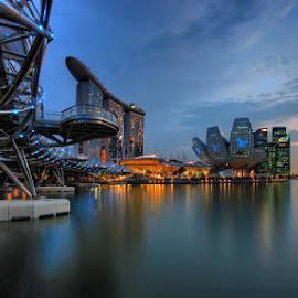 by Ken Goh - City,  Street & Park  Vistas