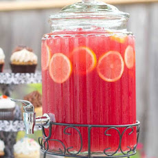 Pink Lemonade Sparkling Fruit Punch