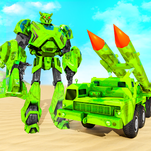 US Army Robot Missile Attack: Truck Robot Games Online PC (Windows / MAC)
