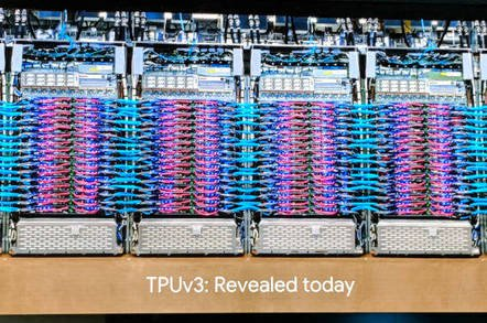 Meet TPU 3.0: Google teases world with latest math coprocessor for AI