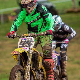 by Jim Jones - Sports & Fitness Motorsports ( motorcycles, motocross, 125 dream race, motorcycle, mx )