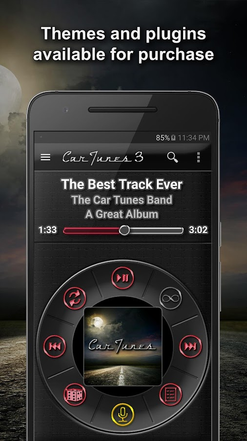 Car Tunes Music Player Pro Screenshot 4