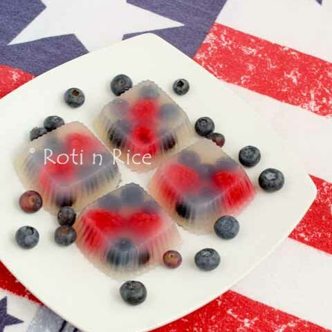 Rose Berry Agar-agar