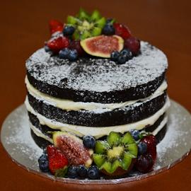 Dream Cake by Kamila Romanowska - Food & Drink Candy & Dessert ( birthday, cake, fruit, tort, fresh, food, cream, dessert )