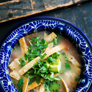Mexican Chicken Lime Soup (Sopa de Lima)