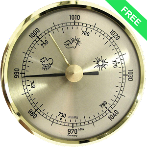 Best barometer apps android weather for Barometric pressure forecast for fishing