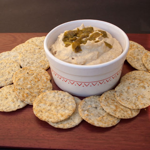 Roasted Hatch Chile Hummus