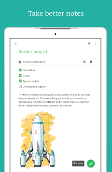 Evernote APK screenshot thumbnail 13