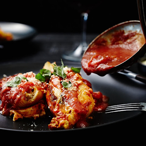 Italian Sausage Stuffed Shells
