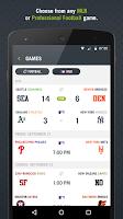 Screenshot of Preplay: MLB, Football