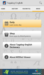 Download Tagalog<>English Dictionary APK for Android Kitkat
