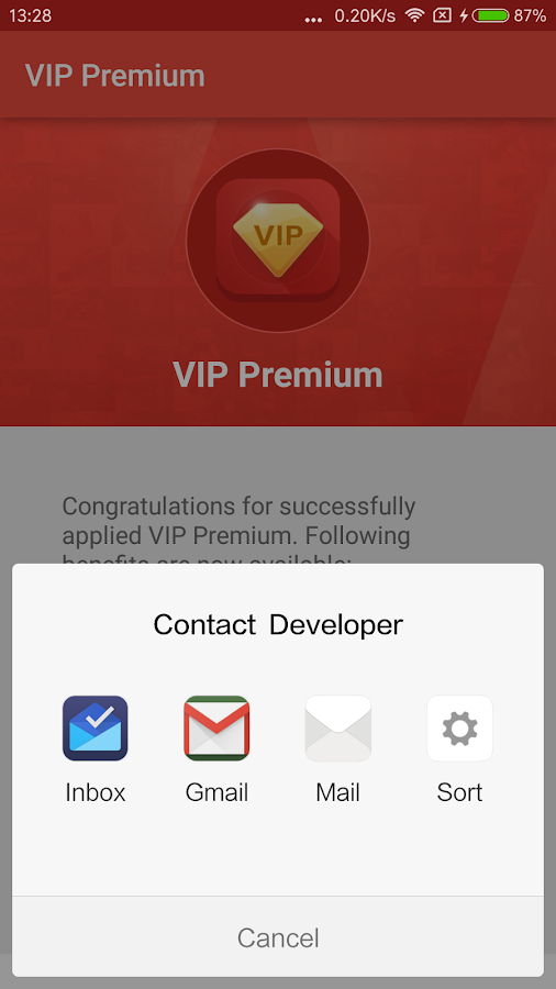 VIP Premium Screenshot 1