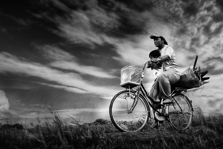 Me n Mam by Patricius Hartono - Transportation Bicycles