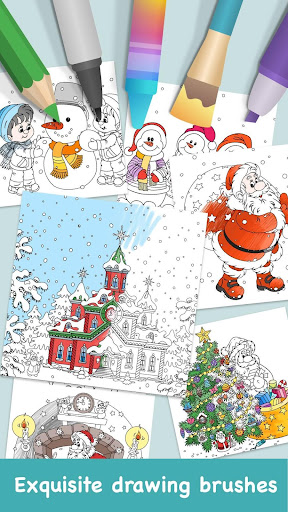 Coloring Game For Christmas For PC