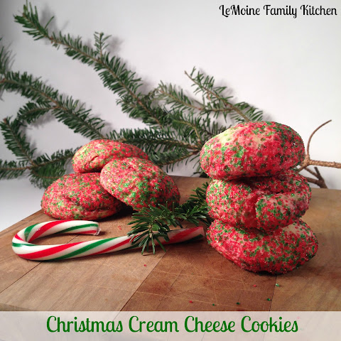 Christmas Cream Cheese Cookies