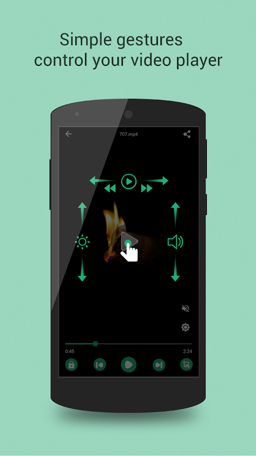 Mplayer Pro for Android Screenshot 3