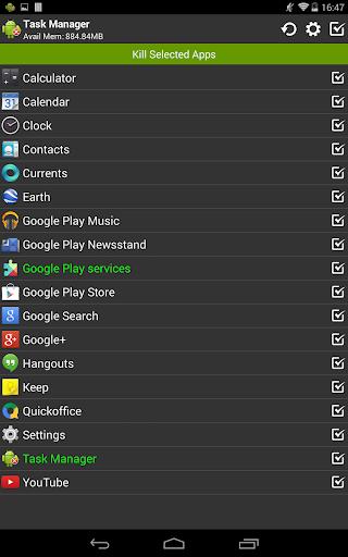 Task Manager (Task Killer) screenshot 9