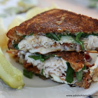 Turkey Club Havarti Grilled Cheese