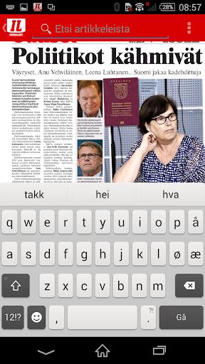 Iltalehti – Päivän lehti - screenshot