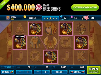 Golden Age of Egypt Rich Slots Screenshot