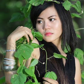 The Green by Endra Kurniawan - People Portraits of Women