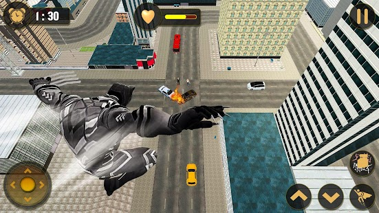 Panther Superhero Battleground: City Survival Game