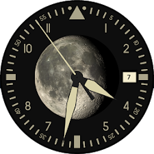 Lunar Clock Wallpaper Demo