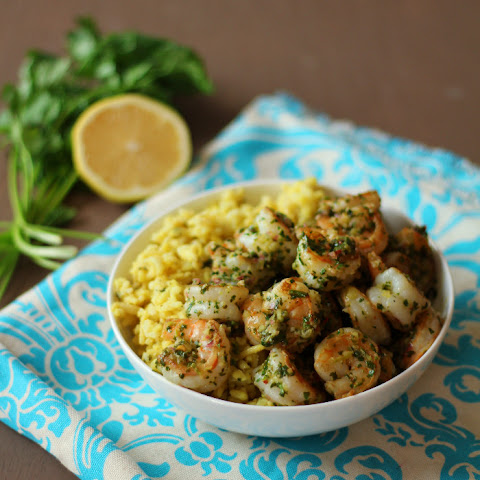 Shrimp Chimichurri & Rice Pilaf