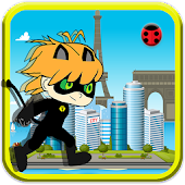 Game Sprinter Chibi Black Cat Ninja apk for kindle fire