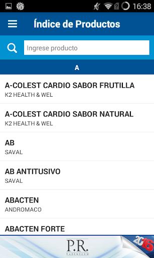 PR Vademecum Chile 2016 - screenshot