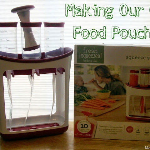 Making Our Own Baby Food Pouches with Infantino